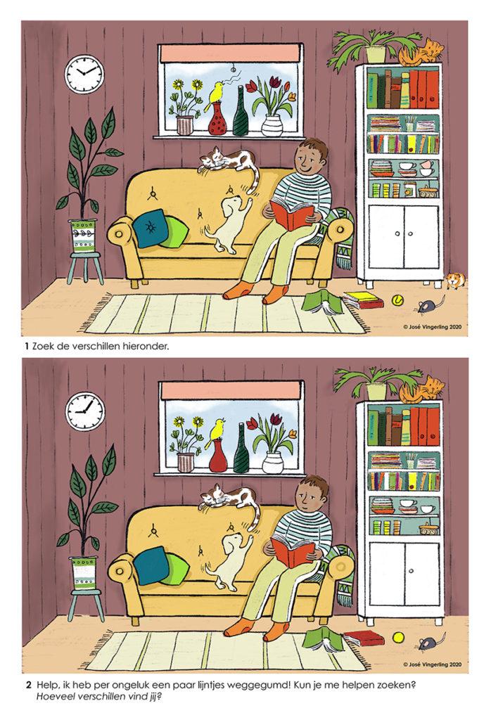 Zoek de verschillen.